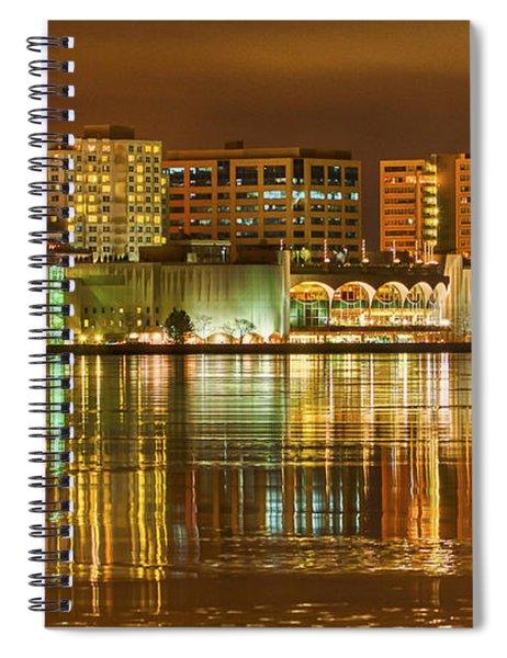 Monona Terrace Madison Wisconsin Spiral Notebook