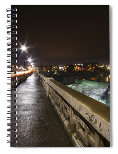 Monroe Street View - Spokane Spiral Notebook