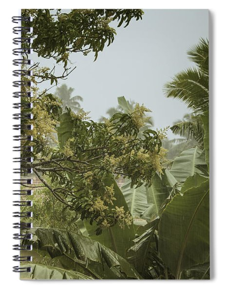 Monsoon Rains In Sri Lanka Spiral Notebook