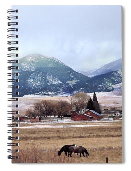 Montana Ranch - 1 Spiral Notebook