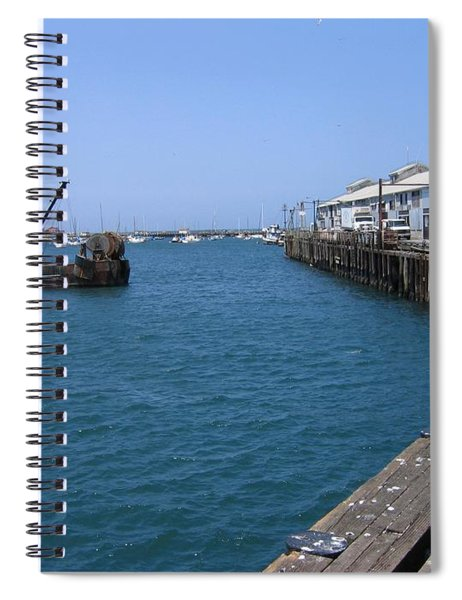 Monterey Municipal Wharf Spiral Notebook