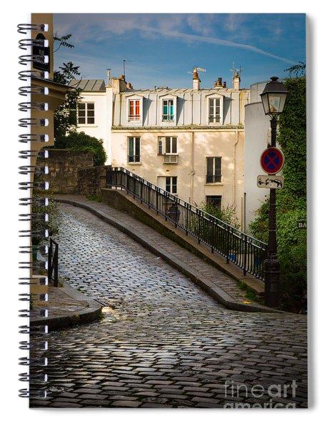 Montmartre Alley Spiral Notebook