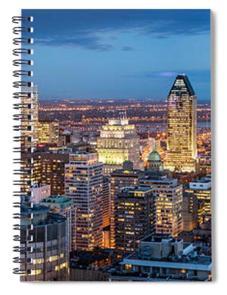 Montreal Panorama Spiral Notebook