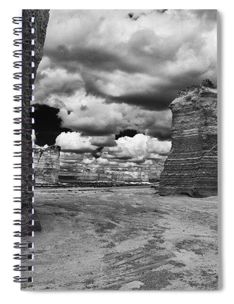 Monument Rock Spiral Notebook