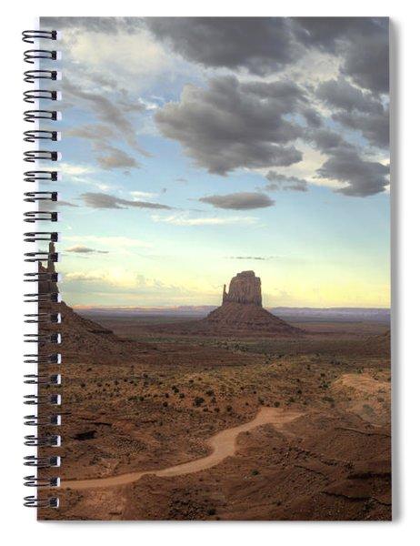 Monument Valley Sunset  Spiral Notebook