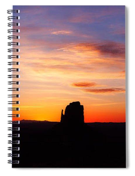 Monumental Sunrise Spiral Notebook