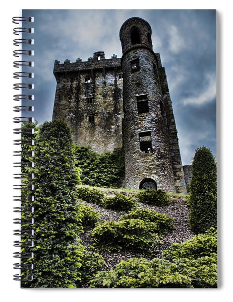 Moody Castle Spiral Notebook
