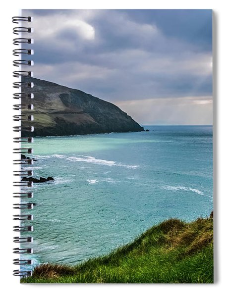 Moody Weather At Slea-head Spiral Notebook
