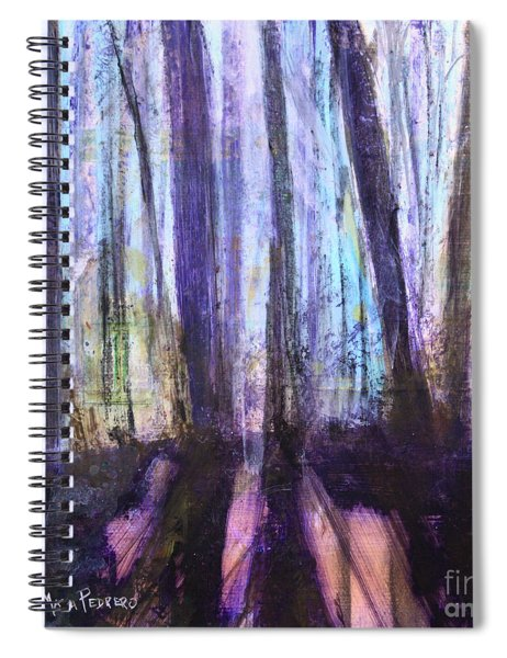 Moody Woods Spiral Notebook