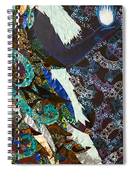 Moon Guardian - The Keeper Of The Universe Spiral Notebook