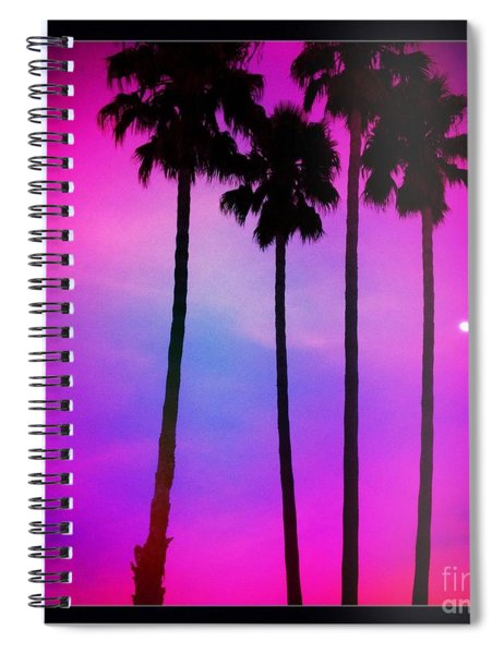Moon Palms Spiral Notebook