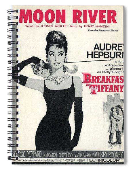 Moon River Spiral Notebook