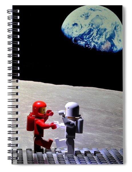 Moondance Spiral Notebook