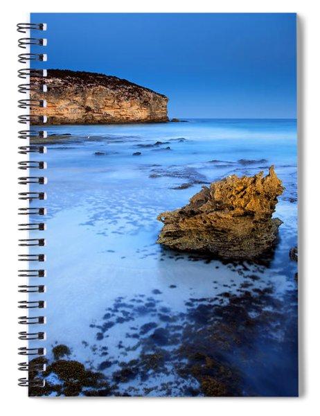 Moonlight Glow Spiral Notebook