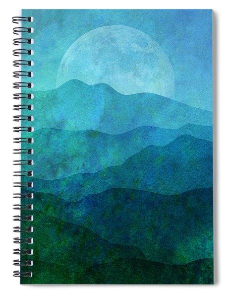 Moonlight Hills Spiral Notebook
