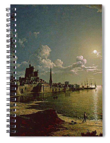 Moonlight Scene, Southampton, 1820 Spiral Notebook