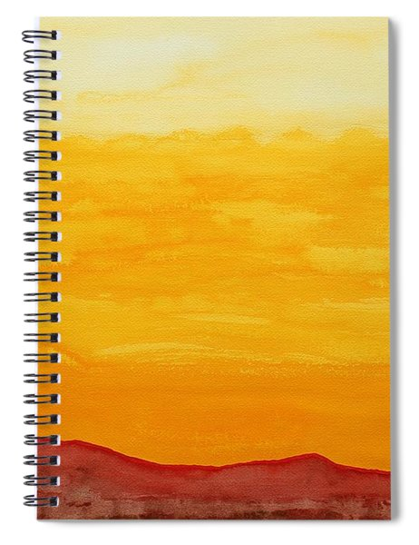 Moonshine Original Painting Sold Spiral Notebook