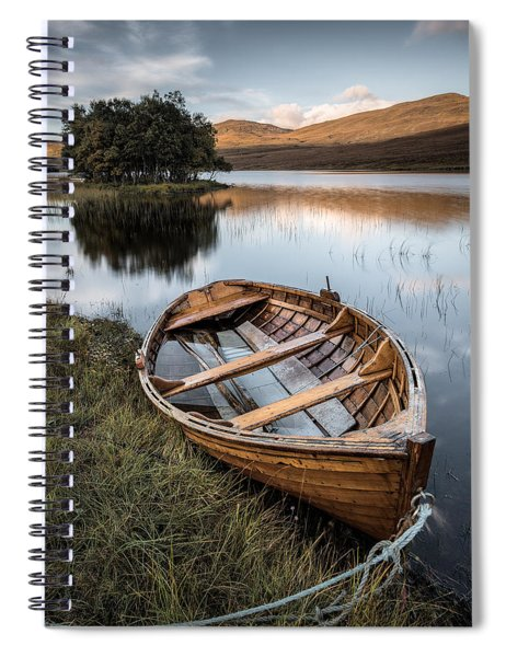 Moored On Loch Awe Spiral Notebook