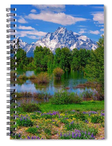 Moran From Pilgrim Creek Spiral Notebook