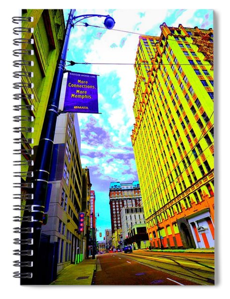More Memphis On Monroe Spiral Notebook