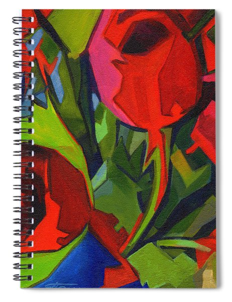 More Red Tulips  Spiral Notebook