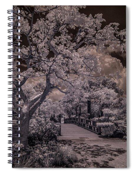 Morikami Gardens - Bridge Spiral Notebook