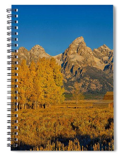 Mormon Row Morning Spiral Notebook