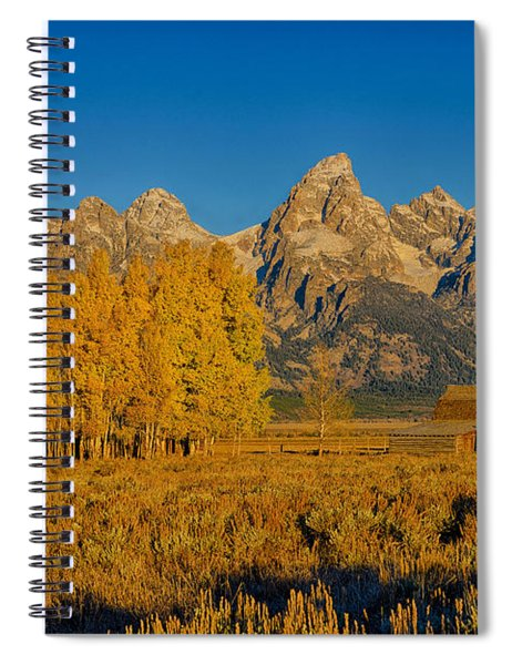 Mormon Row Morning Spiral Notebook