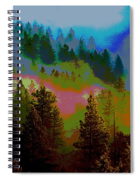 Morning Arrives In The Pacific Northwest Spiral Notebook