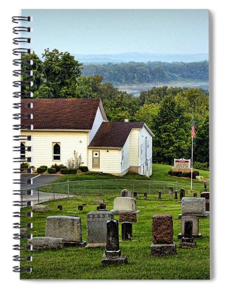 Morning At Goshen Spiral Notebook
