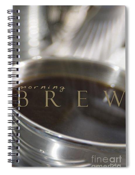 Morning Brew Spiral Notebook