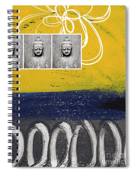Morning Buddha Spiral Notebook by Linda Woods