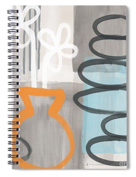 Morning Flowers Spiral Notebook