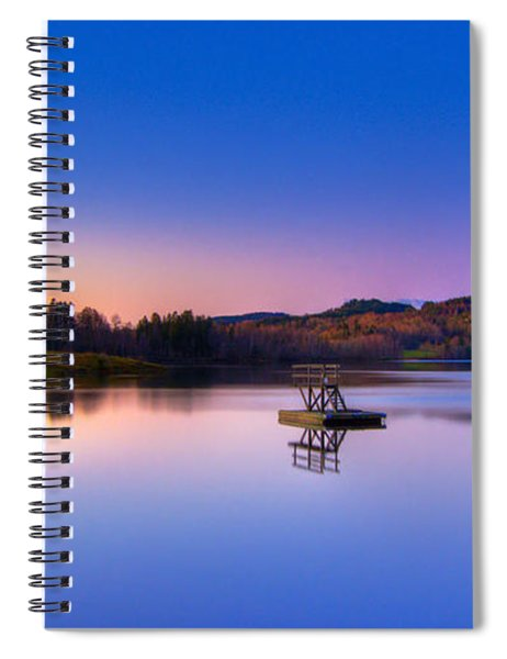 Morning Glory.. Spiral Notebook