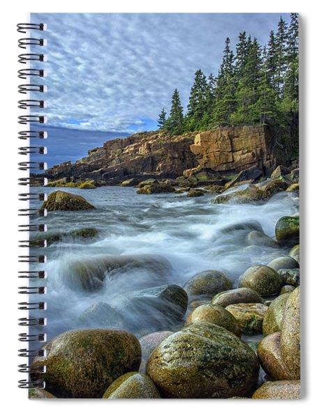 Morning In Monument Cove Spiral Notebook