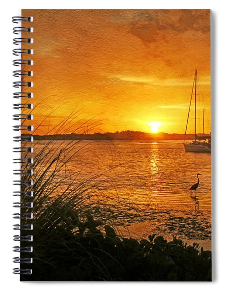 Morning Light - Florida Sunrise Spiral Notebook