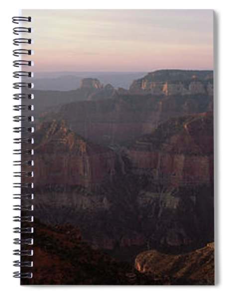 Morning Light On The Grand Canyon Spiral Notebook