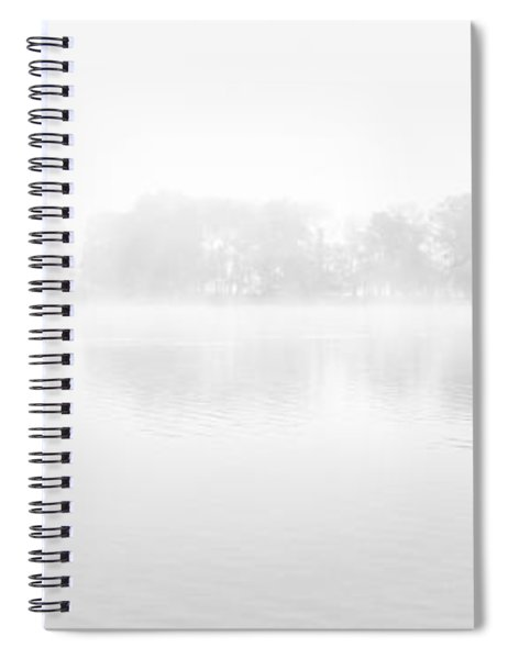 Morning Mist Loch Ard Spiral Notebook