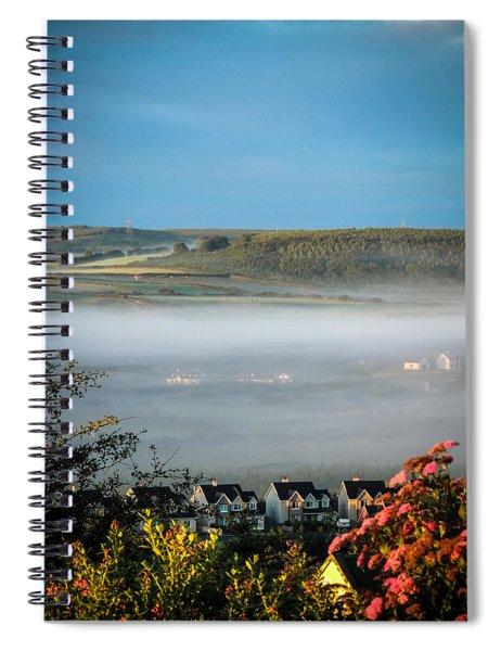 Morning Mist Over Lissycasey Spiral Notebook