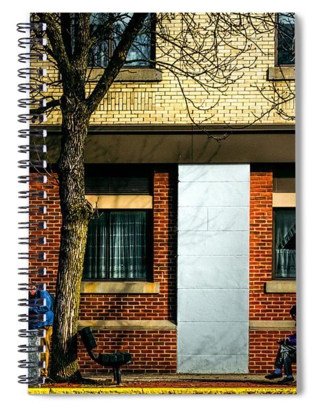 Morning People Spiral Notebook