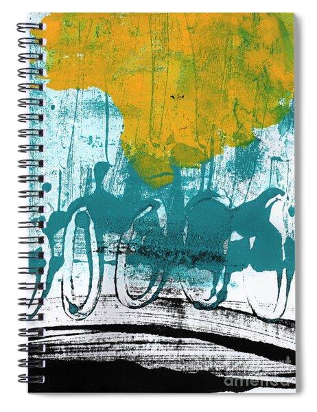 Morning Ride Spiral Notebook