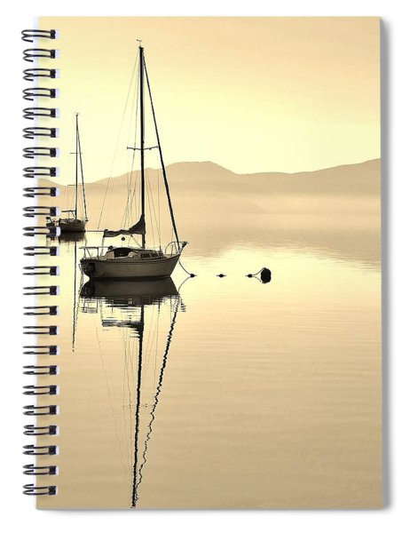 Morning Sail Spiral Notebook