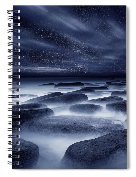 Morpheus Kingdom Spiral Notebook by Jorge Maia
