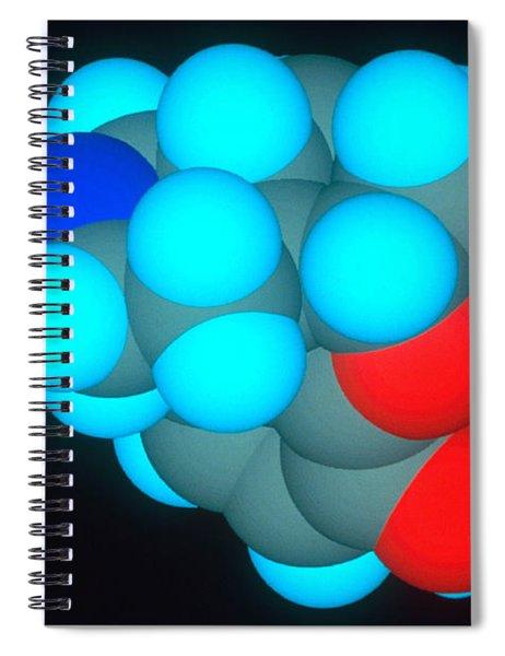 Morphine Spiral Notebook