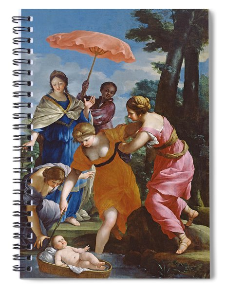 Moses Rescued From The Water Spiral Notebook
