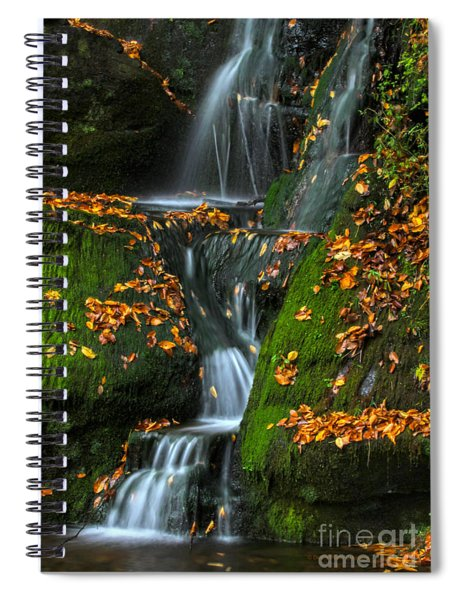 Round Pond Falls Spiral Notebook