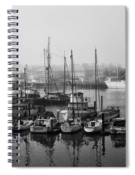 Moss Landing Harbor Spiral Notebook