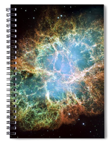 Most Detailed Image Of The Crab Nebula Spiral Notebook
