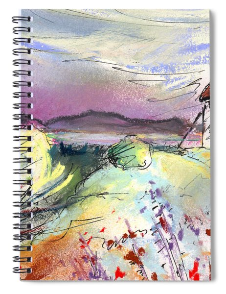 Mota Del Cuervo 05 Spiral Notebook