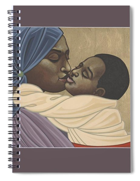Mother And Child Of Kibeho 211 Spiral Notebook